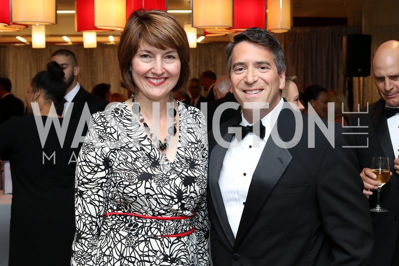 Rep. Cathy McMorris-Rodgers, James Rosen. Photo by Tony Powell. 2016 Ambassadors Ball. Marriott Marquis. September 13, 2016