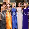 Capricia Marshall, Huberta Wittig, Carrie Marriott, Joan Ohayon, Rene Augustine. Photo by Tony Powell. 2016 Ambassadors Ball. Marriott Marquis. September 13, 2016