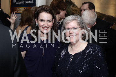 Kimberly Kravis, Holly Petraeus. Photo by Tony Powell. 2016 Atlantic Council Distinguished Leadership Awards. May 3, 2016