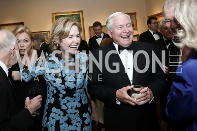 Mary Claire Murphy, Robert Gates. Photo by Tony Powell. 2016 Atlantic Council Distinguished Leadership Awards. May 3, 2016