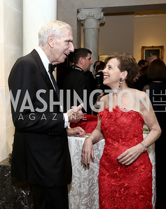 C. Boyden Gray, Adrienne Arsht. Photo by Tony Powell. 2016 Atlantic Council Distinguished Leadership Awards. May 3, 2016