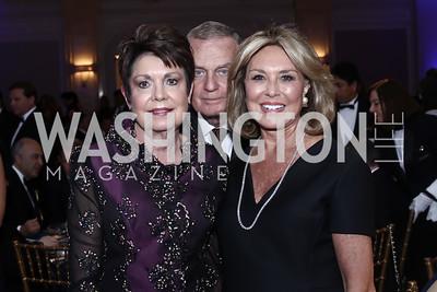 Diane Jones, Gen. Jim Jones, Alice Blair. Photo by Tony Powell. 2016 Atlantic Council Distinguished Leadership Awards. May 3, 2016