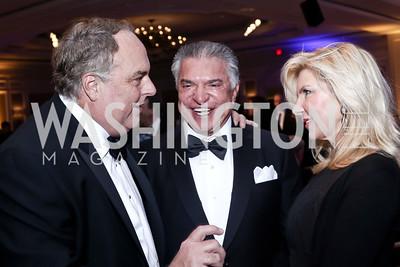 Ron Phillips, Al Cardenas, Mary Kaye Huntsman. Photo by Tony Powell. 2016 Atlantic Council Distinguished Leadership Awards. May 3, 2016