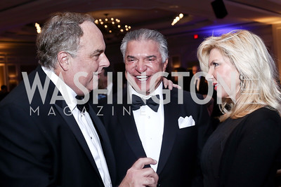 Ron Phillips, Al Cardenas, Mary Kaye Huntsman. Photo by Tony Powell. 2016 Atlantic Council Distinguished Leadership Awards. May 3, 2016