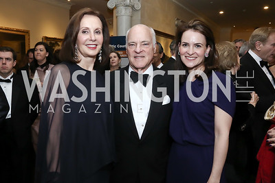 Marie Josee Kravis and Henry Kravis, Kimberly Kravis. Photo by Tony Powell. 2016 Atlantic Council Distinguished Leadership Awards. May 3, 2016