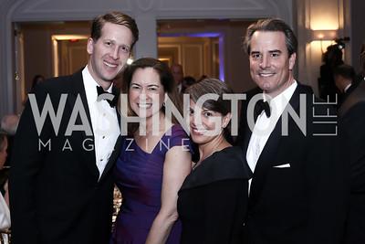 Max Angerholzer, Lee Satterfield, Amy Selco, Stuart Holliday. Photo by Tony Powell. 2016 Atlantic Council Distinguished Leadership Awards. May 3, 2016