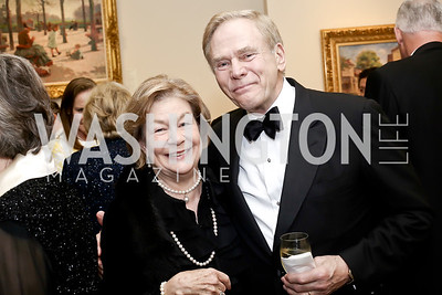Elizabeth and Jan Lodal. Photo by Tony Powell. 2016 Atlantic Council Distinguished Leadership Awards. May 3, 2016