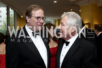 Fred Kempe, Chuck Hagel. Photo by Tony Powell. 2016 Atlantic Council Distinguished Leadership Awards. May 3, 2016