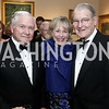 Robert Gates, Lynda and William Webster. Photo by Tony Powell. 2016 Atlantic Council Distinguished Leadership Awards. May 3, 2016