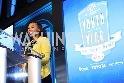 2016 YOY Jocelyn Woods. Photo by Tony Powell. BGCA National Youth of the Year. Building Museum. September 27, 2016