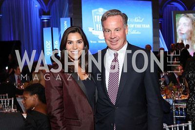 Reem Sadik, Wick Sollers. Photo by Tony Powell. BGCA National Youth of the Year. Building Museum. September 27, 2016