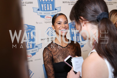 Misty Copeland. Photo by Tony Powell. BGCA National Youth of the Year. Building Museum. September 27, 2016