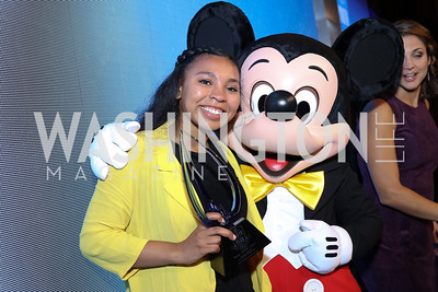 2016 YOY Jocelyn Woods, Mickey Mouse. Photo by Tony Powell. BGCA National Youth of the Year. Building Museum. September 27, 2016