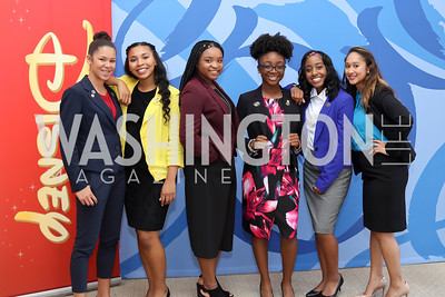 Arianna Skinner, Jocelyn Woods, Abria Franklin, Alexia Lewis, Raliyah Dawson, Melanie Webster. Photo by Tony Powell. BGCA National Youth of the Year. Building Museum. September 27, 2016