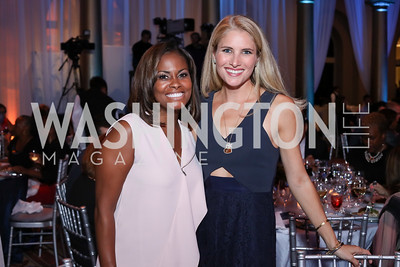 Lynne Lightfoote, Ashley Taylor Bronczek. Photo by Tony Powell. BGCA National Youth of the Year. Building Museum. September 27, 2016