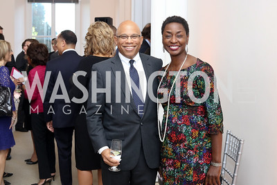Tedd Alexander, Rynthia Rost. Photo by Tony Powell. BGCA National Youth of the Year. Building Museum. September 27, 2016