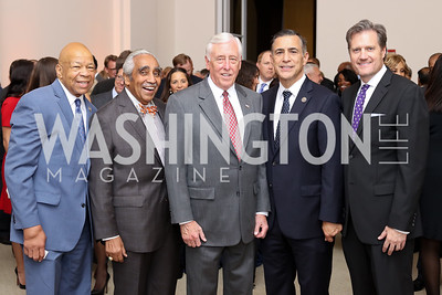 Reps. Elijah Cummings, Charles Rangel, Steny Hoyer, Darryl Issa, and Mike Turner. Photo by Tony Powell. BGCA National Youth of the Year. Building Museum. September 27, 2016