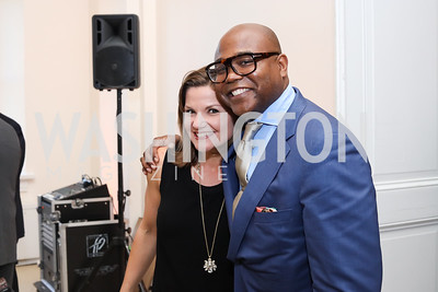 Julie Teer, Emil Hill. Photo by Tony Powell. BGCA National Youth of the Year. Building Museum. September 27, 2016