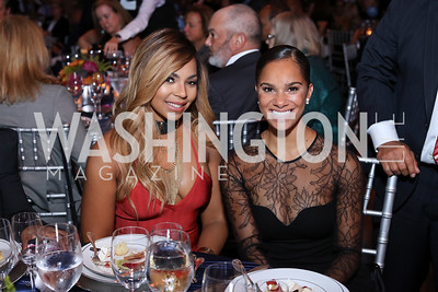 Ashanti, Misty Copeland. Photo by Tony Powell. BGCA National Youth of the Year. Building Museum. September 27, 2016