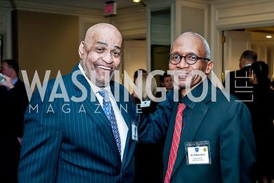Reginald Warfield, William Byrd. Photo by Tony Powell. Bishop Walker School Dinner. Willard Hotel. March 3, 2016