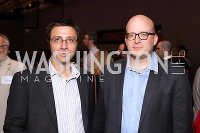 Ben Schreiber, Mile Konczal. Photo by Tony Powell. 2016 CPD Annual Gala. Grand Hyatt. May 24, 2016
