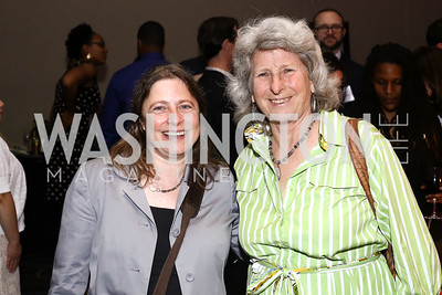 Lisa Donner, Harriet Crosby. Photo by Tony Powell. 2016 CPD Annual Gala. Grand Hyatt. May 24, 2016