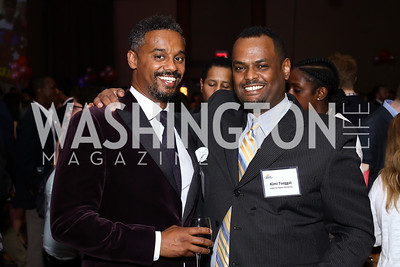 Mehari Sequar, Kimi Tseggai. Photo by Tony Powell. 2016 CPD Annual Gala. Grand Hyatt. May 24, 2016