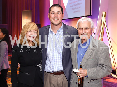 Bonnie Nelson Schwartz, Eric Pica, Arlie Schardt. Photo by Tony Powell. 2016 CPD Annual Gala. Grand Hyatt. May 24, 2016