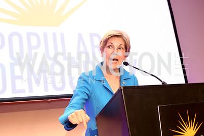 Sen. Elizabeth Warren. Photo by Tony Powell. 2016 CPD Annual Gala. Grand Hyatt. May 24, 2016