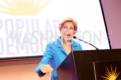 Sen. Elizabeth Warren. Photo by Tony Powell. 2016 CPD Annual Gala. Grand Hyatt. May 24, 2016