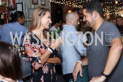 Stacy Hadeka, Alex Lara. Photo by Tony Powell. Celebrate Logan. September 17, 2016