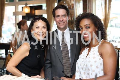 Mallory Tablintino, Brian Julian, Ashley Atwater. Photo by Tony Powell. Celebrate Logan. September 17, 2016