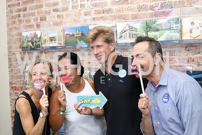 Stuart Allen, Trish Yan, Jonathan Taylor, Michael Moore. Photo by Tony Powell. Celebrate Logan. September 17, 2016