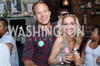 Jesse Grimste, Jessica Van Buskirk. Photo by Tony Powell. Celebrate Logan. September 17, 2016