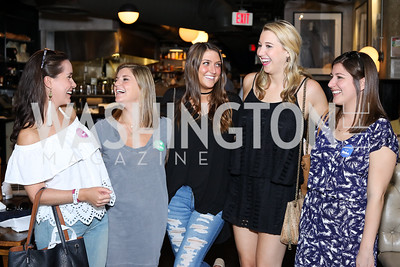 Lucille Crowley, Katherine Skilling, Tina Kelly, Meg Szumski, Maggie Thomas. Photo by Tony Powell. Celebrate Logan. September 17, 2016