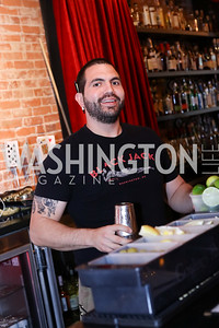 Black Jack Bartender Phil Coss. Photo by Tony Powell. Celebrate Logan. September 17, 2016