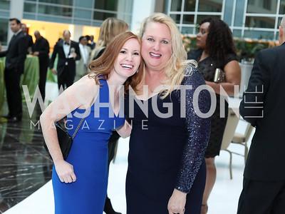 Liz Dobbin, Charlotte Peregoy. Photo by Tony Powell. 2016 Chamber's Choice Awards & Gala. Marriott Marquis. November 4, 2016