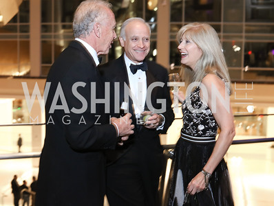 Rich Bradley, Doug and Suzanne Firstenberg. Photo by Tony Powell. 2016 Chamber's Choice Awards & Gala. Marriott Marquis. November 4, 2016