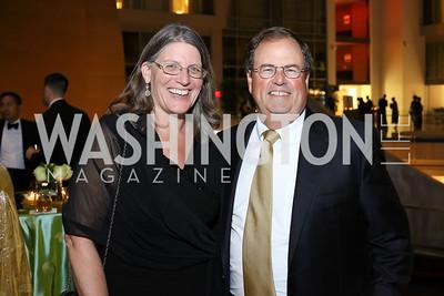 Kelly McShane, Chris Smith. Photo by Tony Powell. 2016 Chamber's Choice Awards & Gala. Marriott Marquis. November 4, 2016