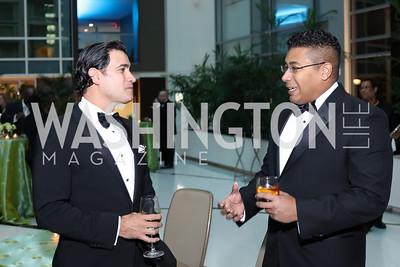 Mario Acosta-Velez, Darrell Maxwell. Photo by Tony Powell. 2016 Chamber's Choice Awards & Gala. Marriott Marquis. November 4, 2016