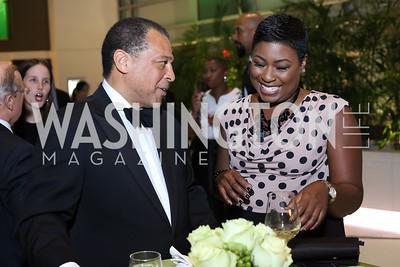 Vinson Stringer, Natalie Williams. Photo by Tony Powell. 2016 Chamber's Choice Awards & Gala. Marriott Marquis. November 4, 2016
