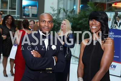Stacey Lincoln, Linda Currie. Photo by Tony Powell. 2016 Chamber's Choice Awards & Gala. Marriott Marquis. November 4, 2016