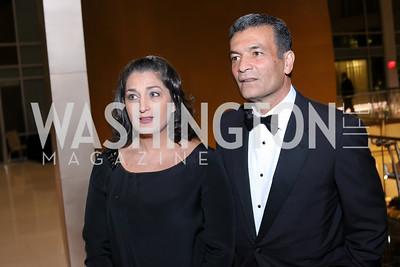 Tammy Darvish and Hamid Fallahi. Photo by Tony Powell. 2016 Chamber's Choice Awards & Gala. Marriott Marquis. November 4, 2016