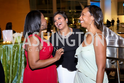 Janene Jackson, Tiffany Rose, Leila Battles. Photo by Tony Powell. 2016 Chamber's Choice Awards & Gala. Marriott Marquis. November 4, 2016