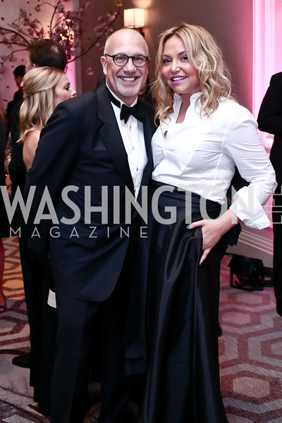 Peter and Andrea Rinaldi. Photo by Tony Powell. 2016 Children's Ball. Ritz Carlton. April 15, 2016