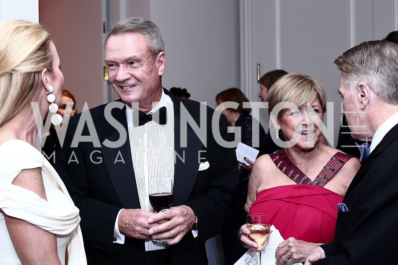 Susanna Quinn, Sen. John Breaux and Lois Breaux, Jack Quinn. Photo by Tony Powell. 2016 Children's Ball. Ritz Carlton. April 15, 2016