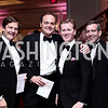 John Ackerly, George Chopivsky, Tripp Donnelly, Dave Bohigian. Photo by Tony Powell. 2016 Children's Ball. Ritz Carlton. April 15, 2016