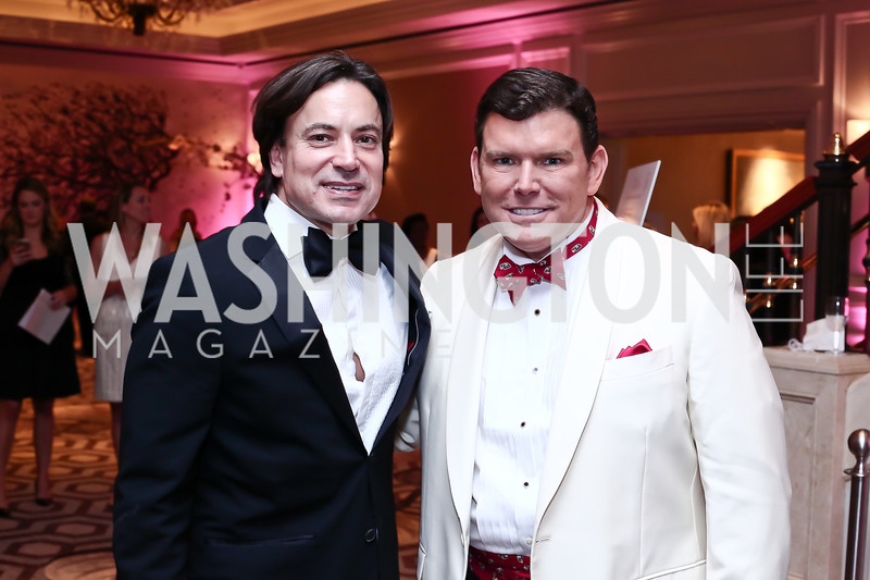 David Tafuri, Bret Baier. Photo by Tony Powell. 2016 Children's Ball. Ritz Carlton. April 15, 2016