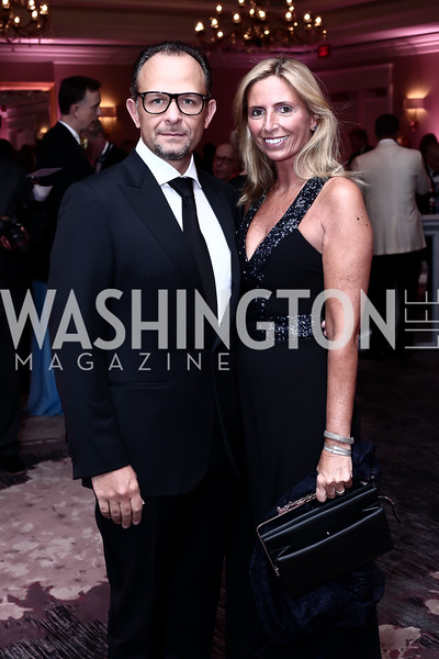 Fabio and Maria Trabocchi. Photo by Tony Powell. 2016 Children's Ball. Ritz Carlton. April 15, 2016