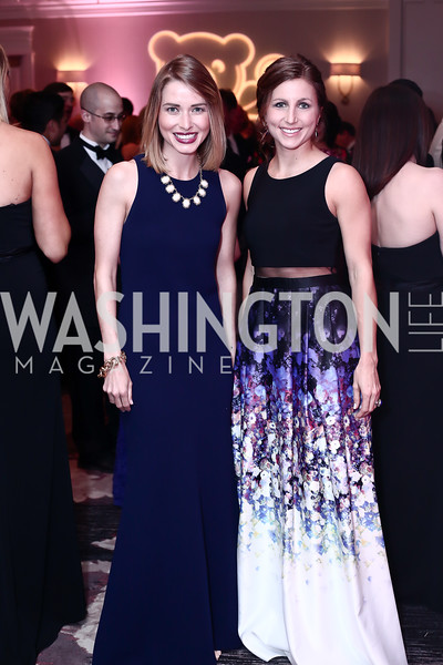 Amy Corcoran, Emily Jansen. Photo by Tony Powell. 2016 Children's Ball. Ritz Carlton. April 15, 2016